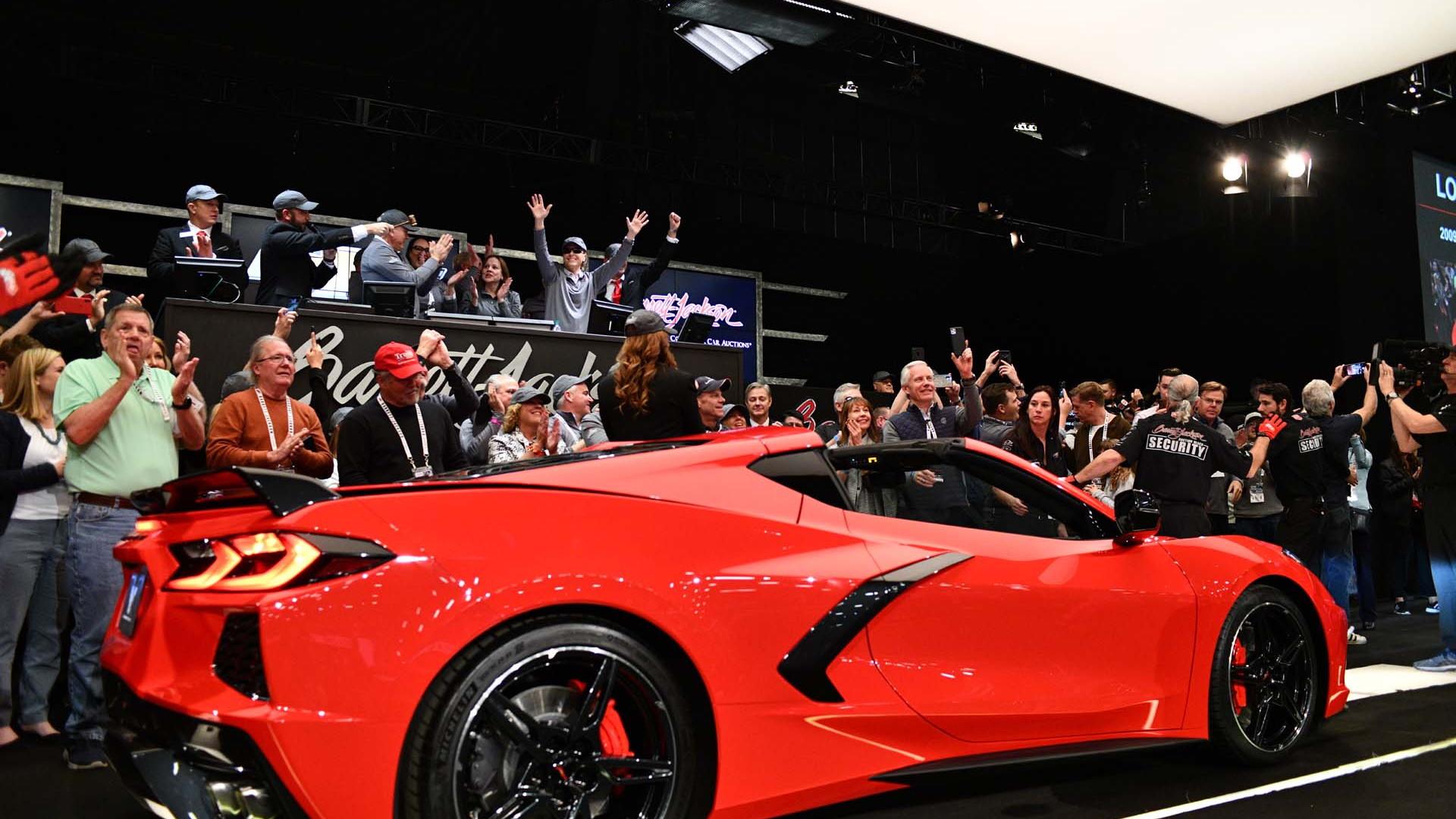 2020 Chevrolet Corvette C8 VIN 001 auctioned for charity