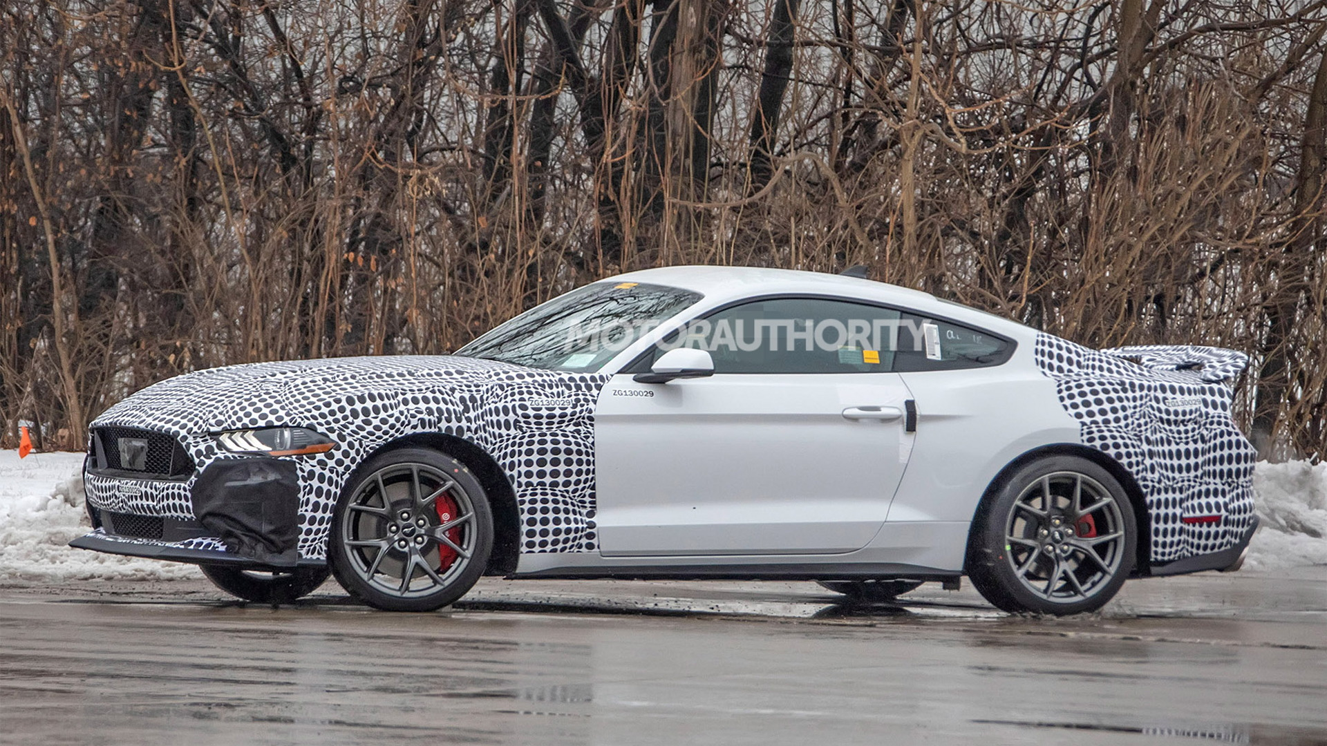 2021 Ford Mustang Mach 1 spy shots - Photo credit: S. Baldauf/SB-Medien