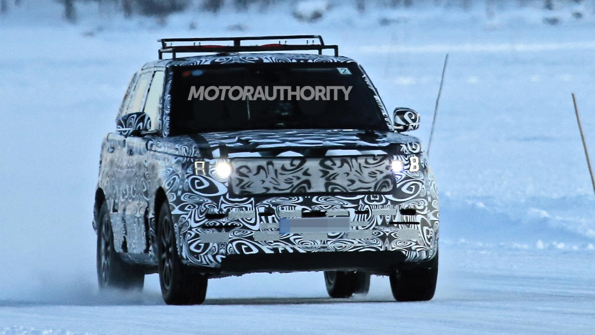 2022 Land Rover Range Rover spy shots - Photo credit: S. Baldauf/SB-Medien