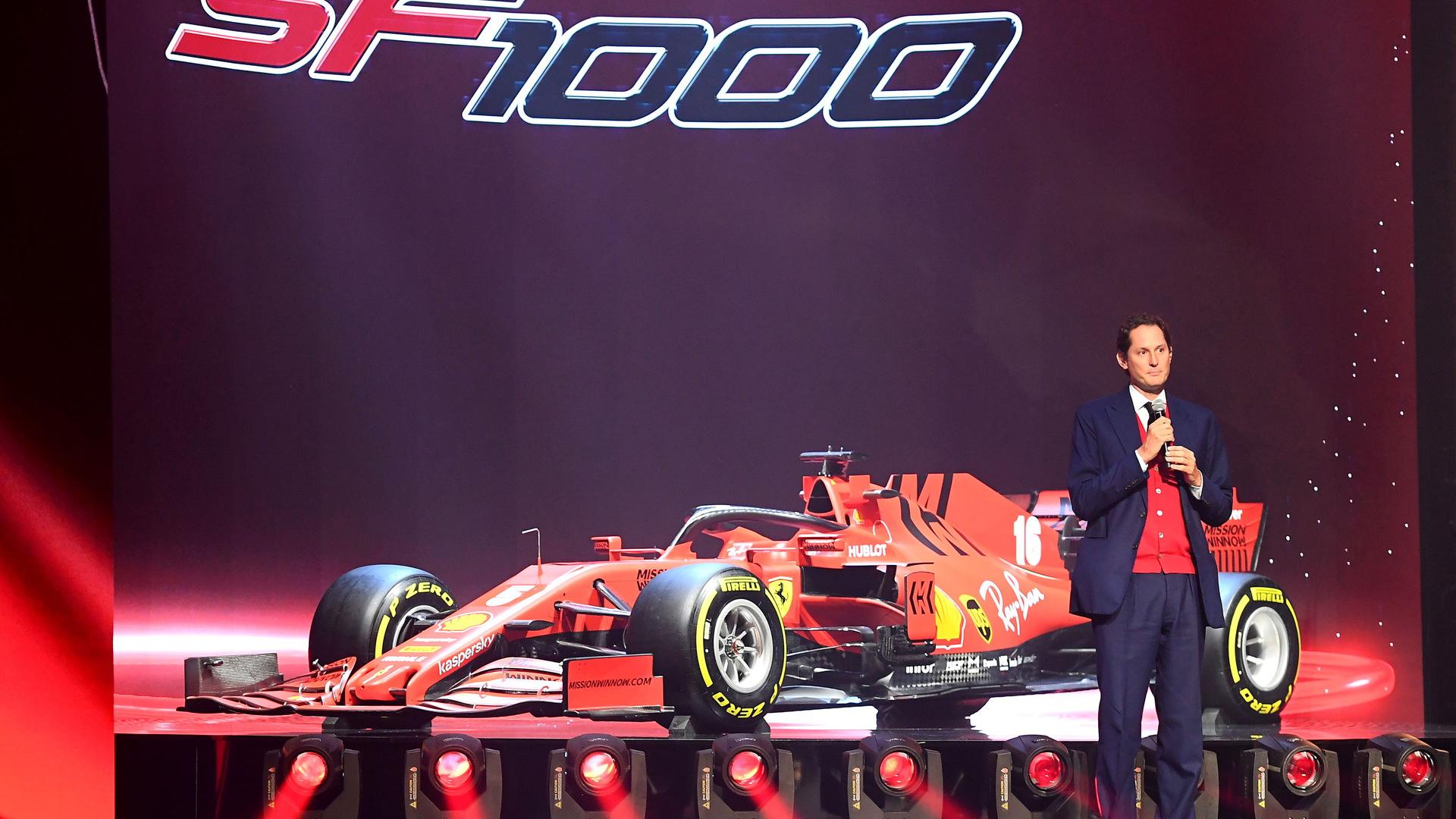 ferrari's 2020 f1 car revealed as the sf1000