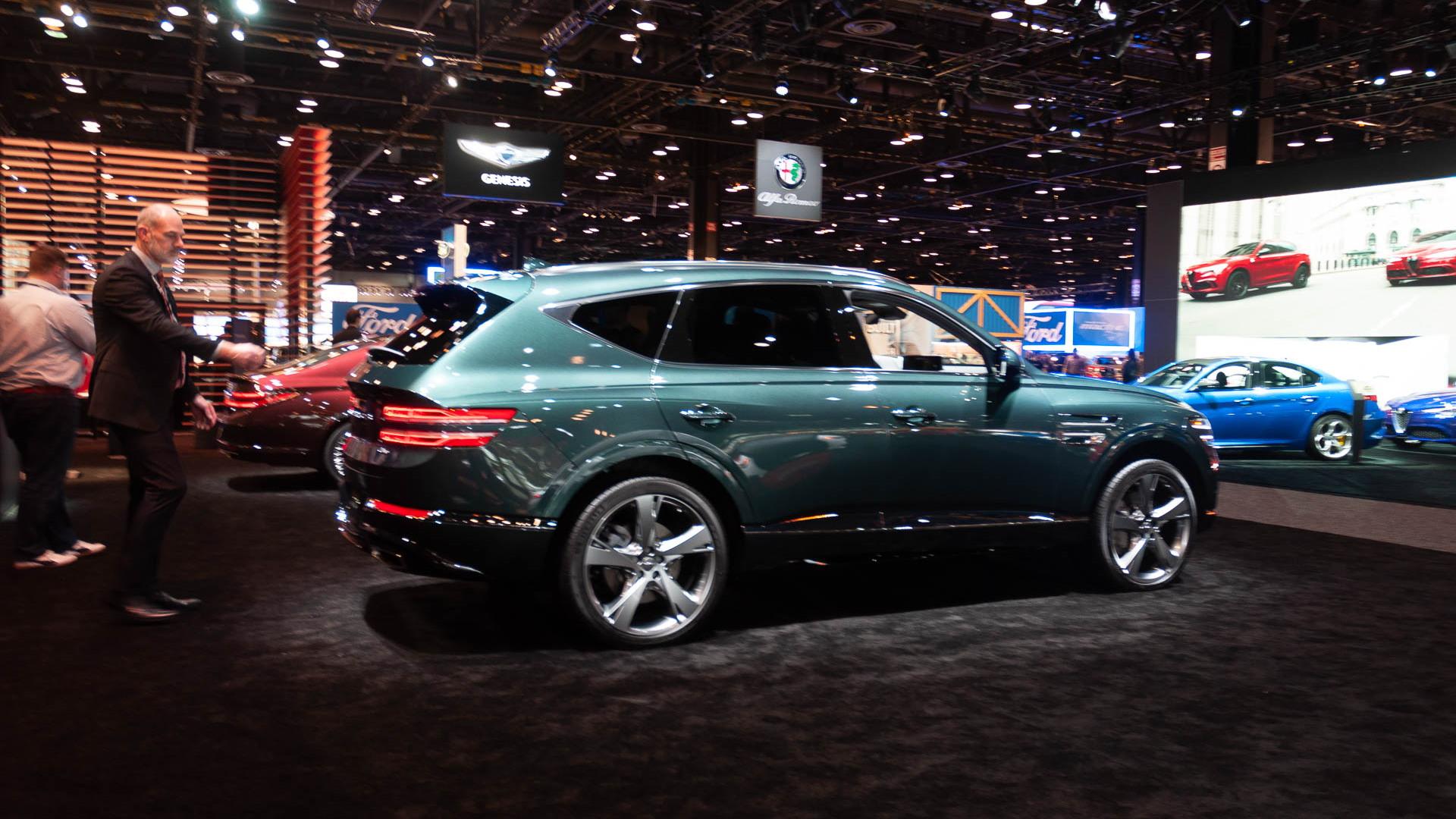2021 Genesis GV80, 2020 Chicago Auto Show