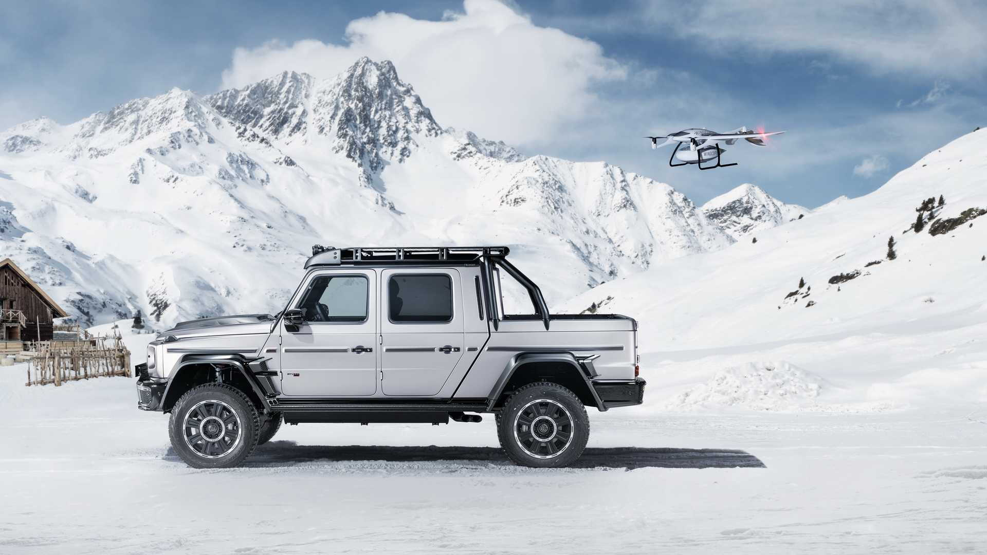 Brabus XLP Adventure 800 based on the 2020 Mercedes-AMG G63