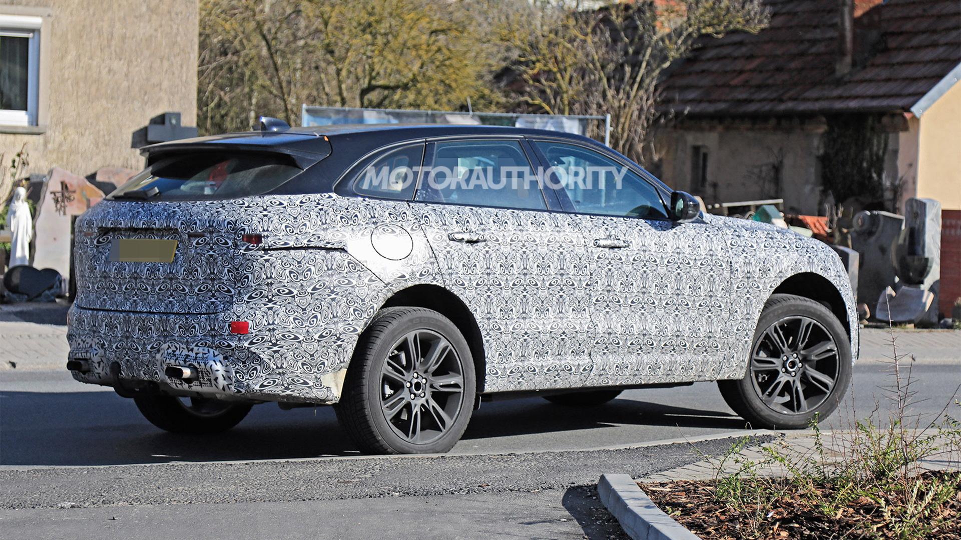 2021 Jaguar F Pace Spy Shots