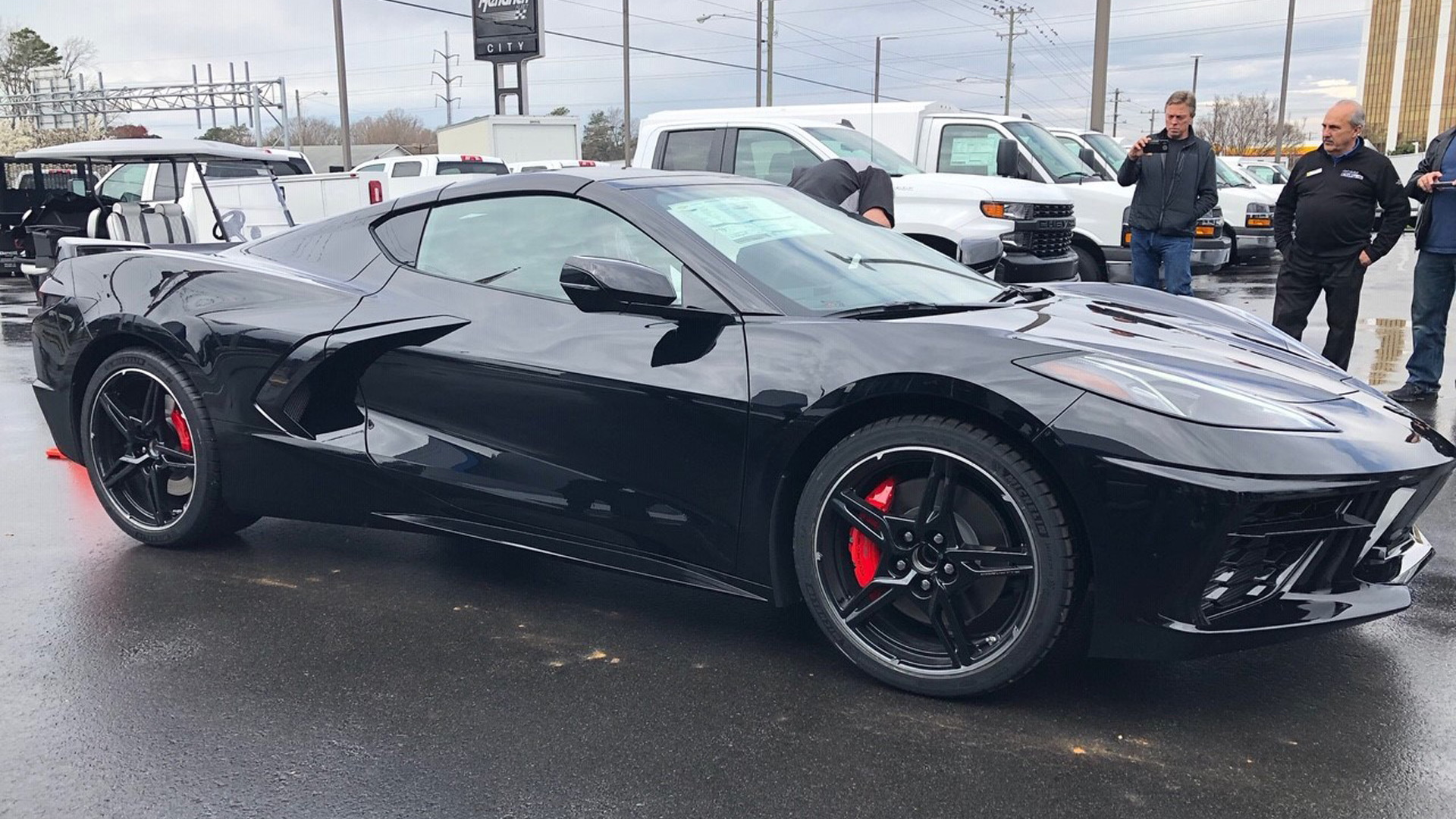 First 2020 Chevy Corvette Is Delivered To Its Owner