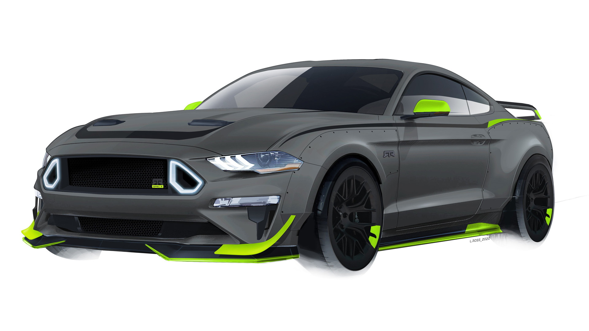 2020 Ford Mustang RTR Spec 5 10th Anniversary Edition