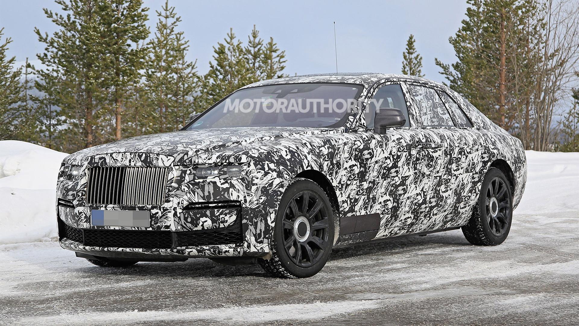 2021 Rolls Royce Ghost Spy Shots