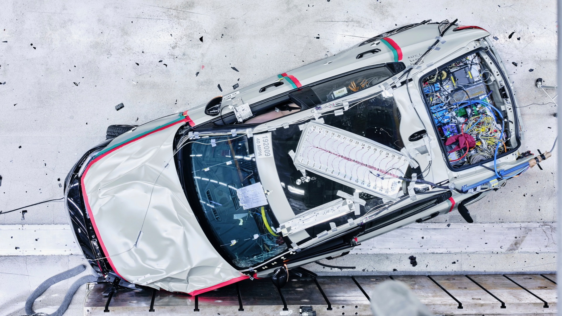 Polestar 2 crash test