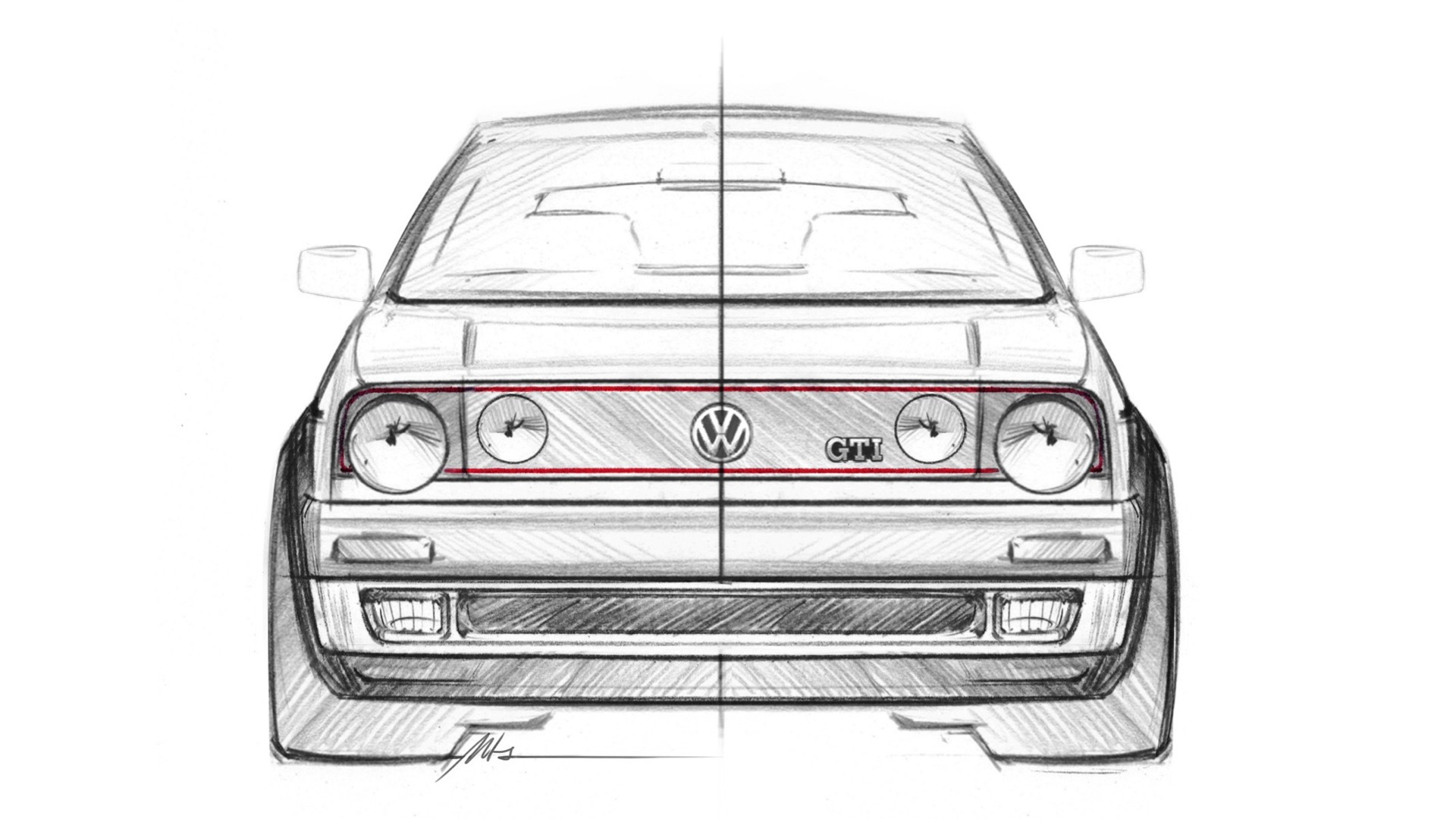 Volkswagen GTI Mk II