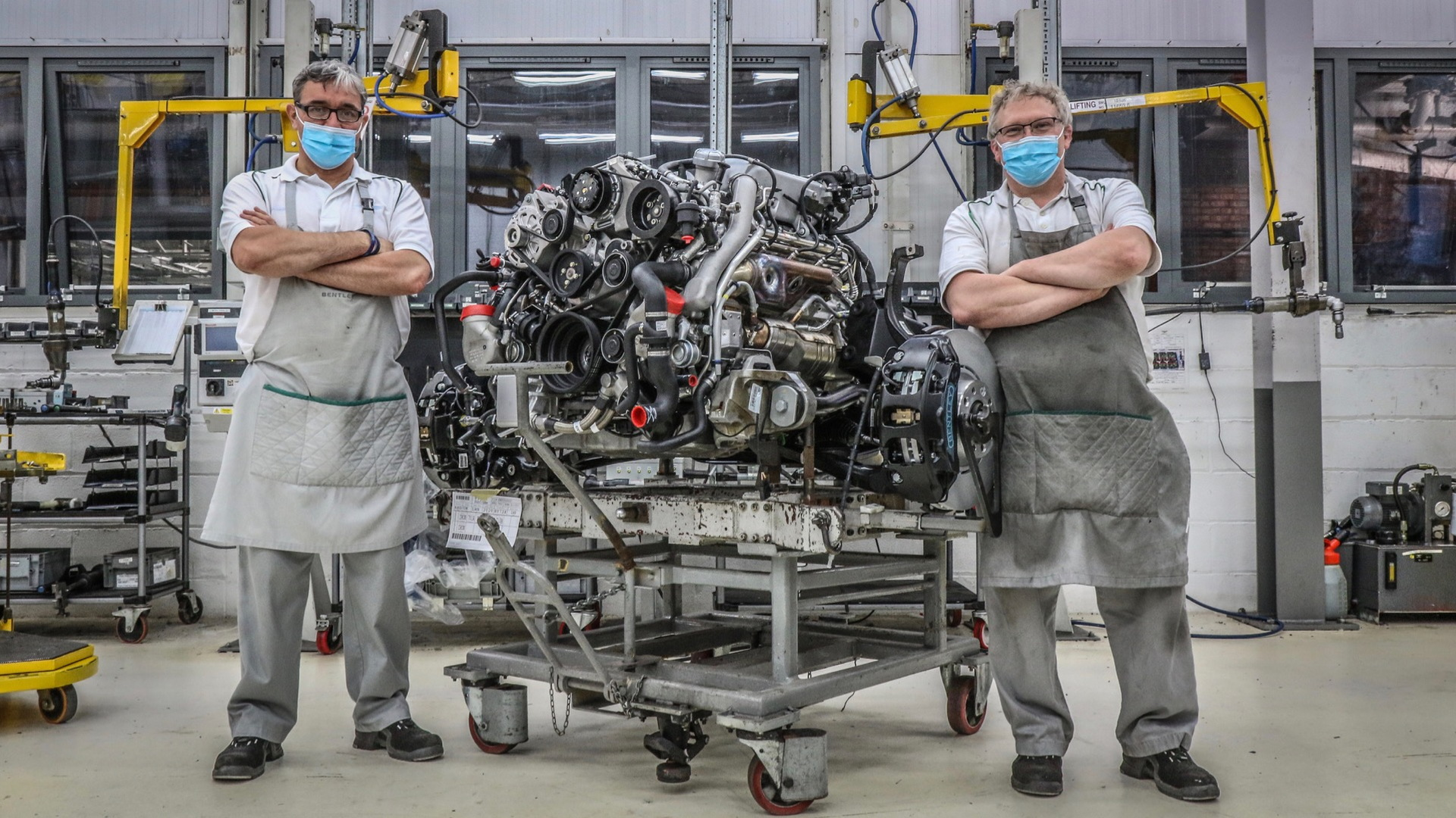Bentley L-Series V-8 end of production