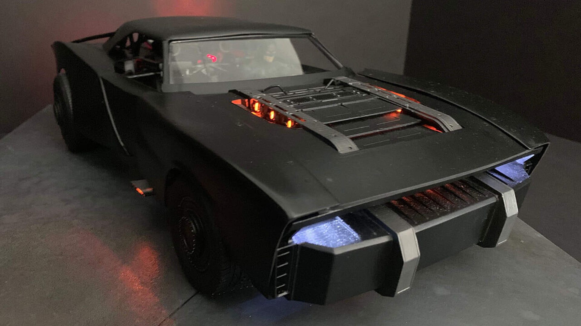 """The Batman"" Batmobile - Photo credit: TheBatRobert/Twitter"