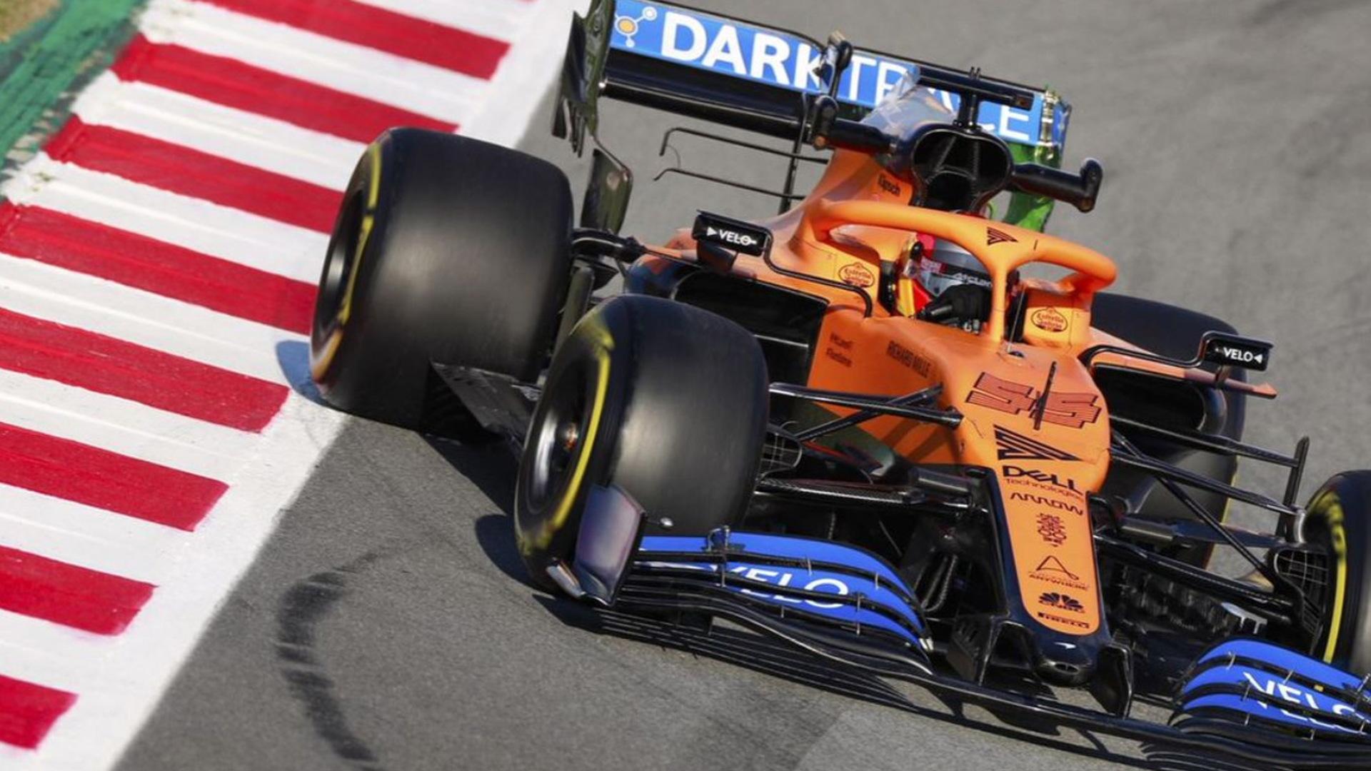 2020 McLaren MCL35 Formula One race car