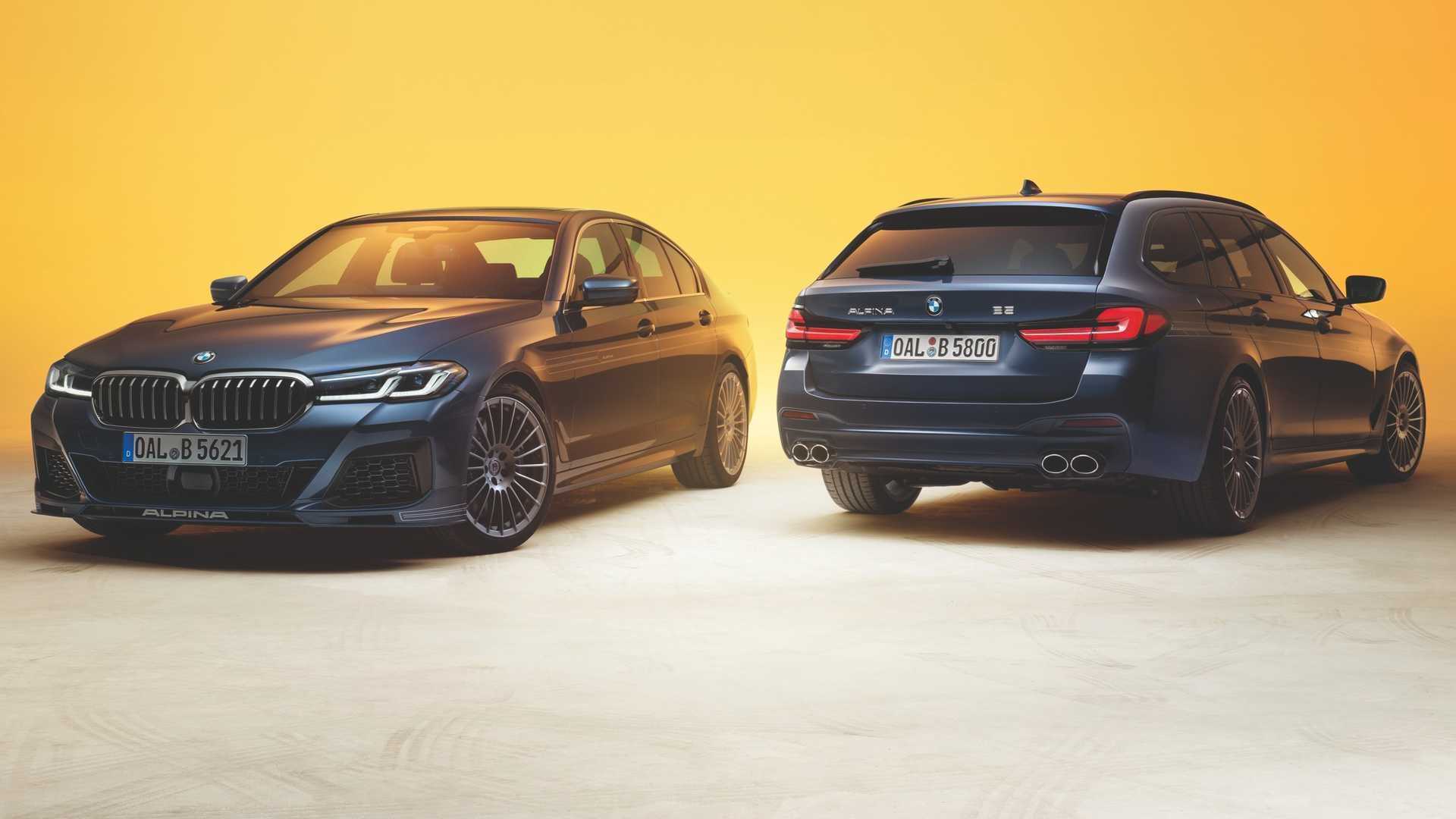 2021 BMW Alpina B5 and B5 Touring