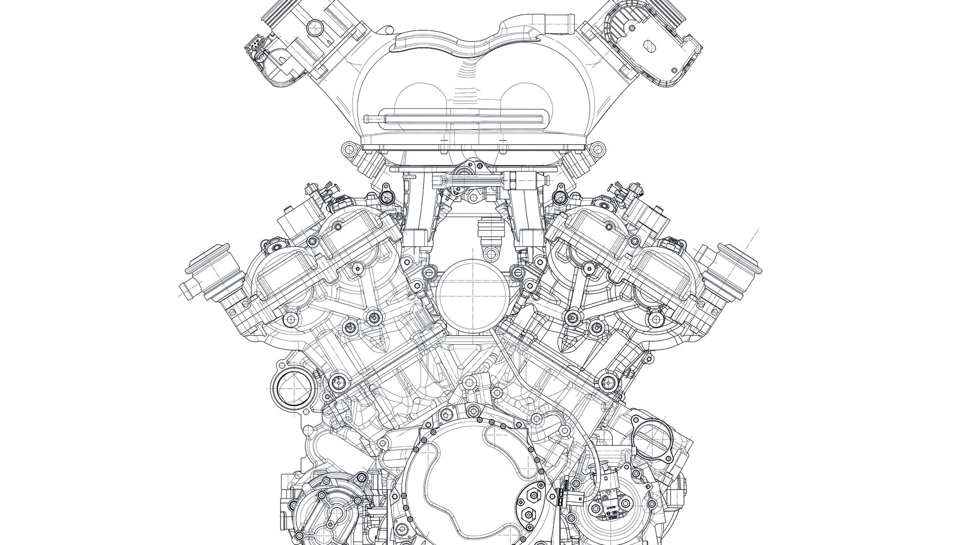 GMA T50's 3.9-liter V-12