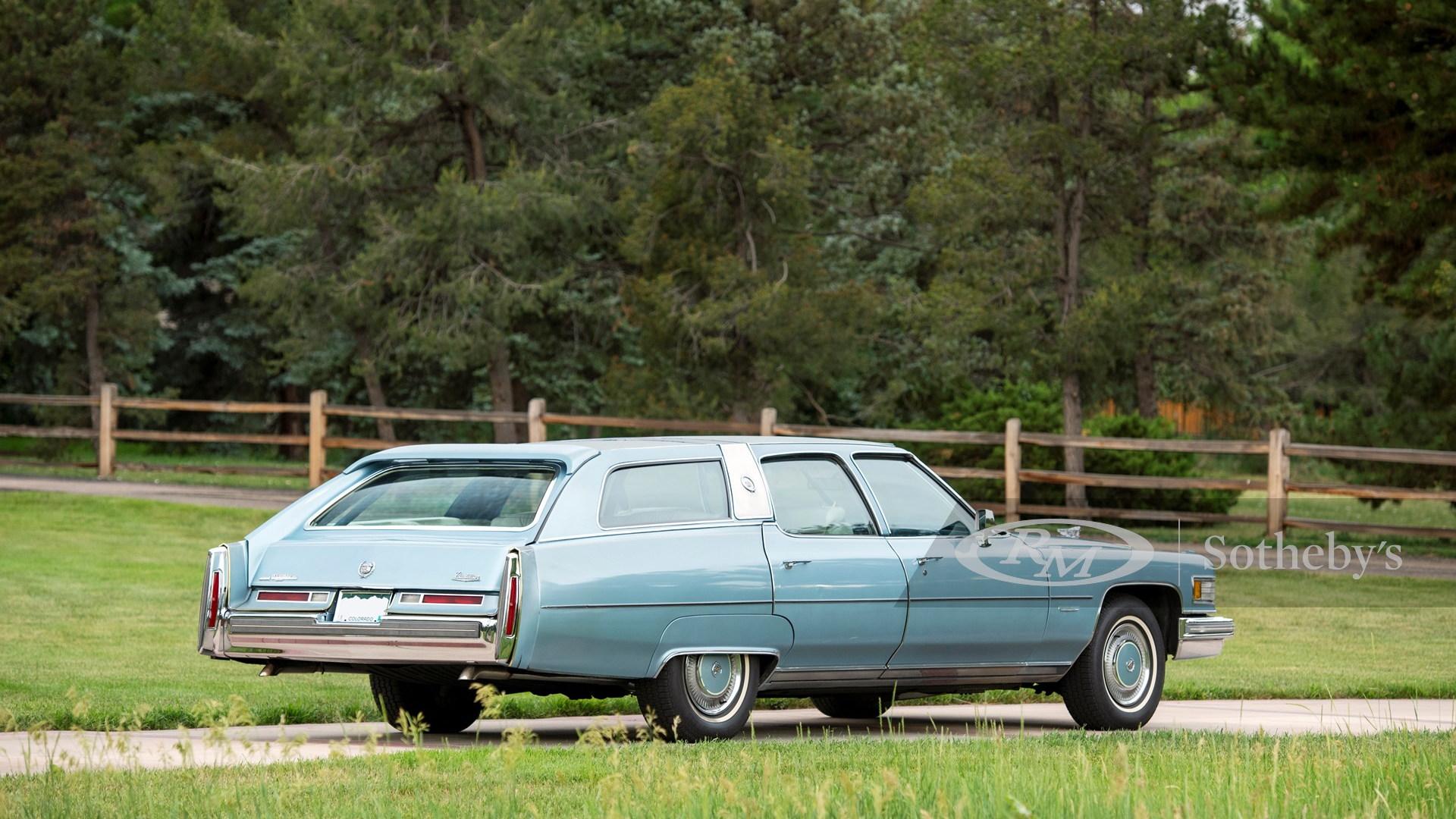 1976 Cadillac Castillian Fleetwood Estate Wagon (photo by RM Sotheby's)