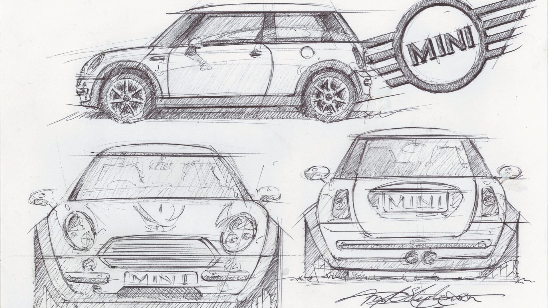 Frank Stephenson Mini sketch