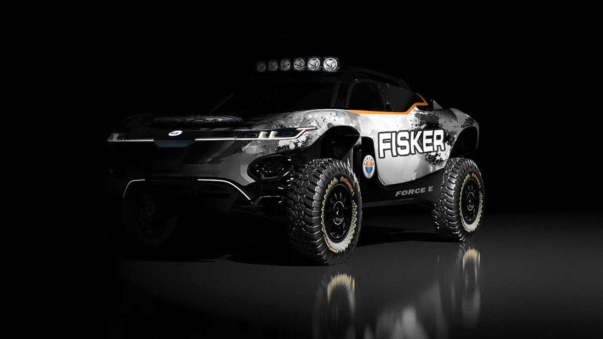 Potential Fisker Ocean Extreme E race car