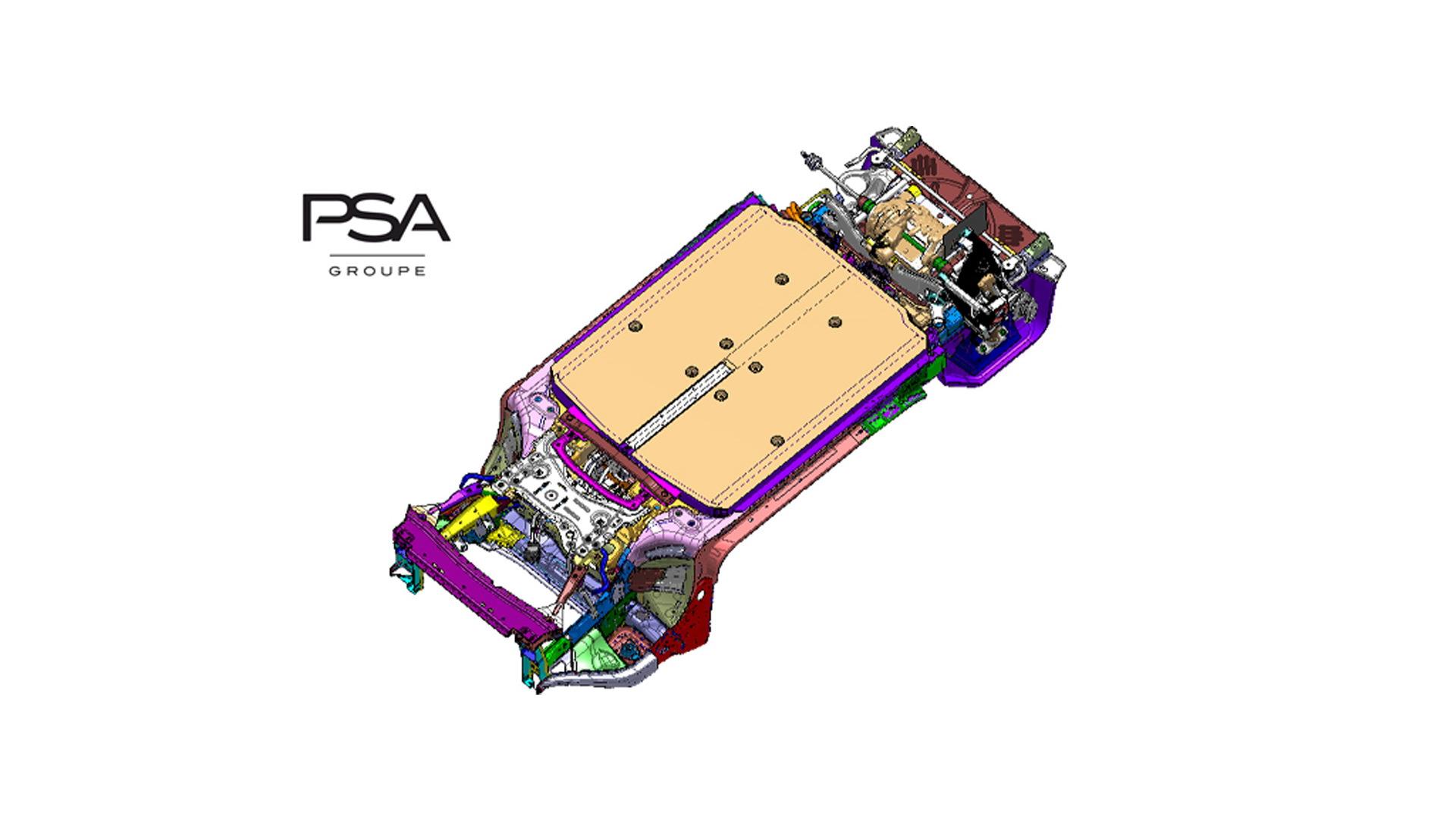 PSA Group eVMP modular platform