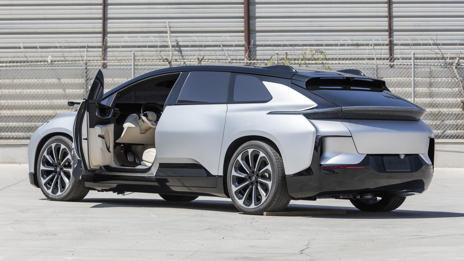 Faraday Future FF91 prototype - Photo credit: Worldwide Auctioneers