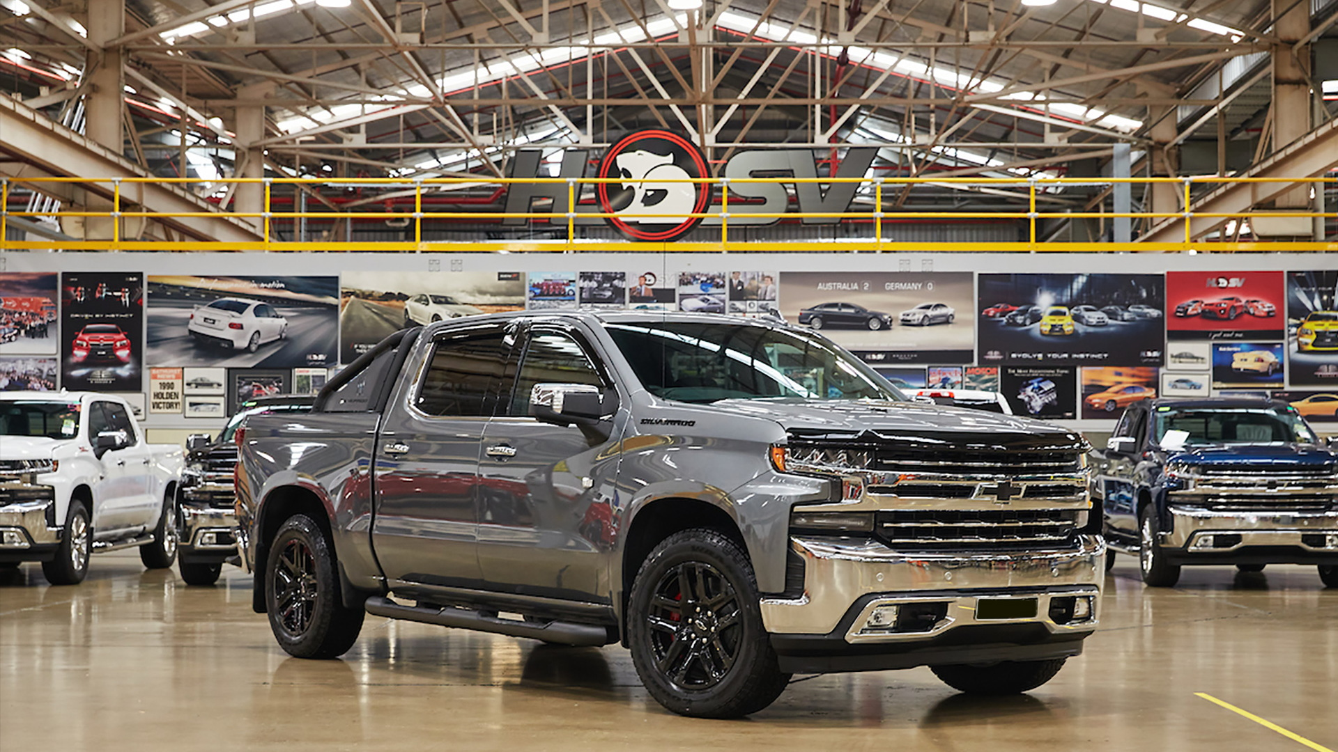 2020 Chevrolet Silverado 1500 with right-hand-drive conversion