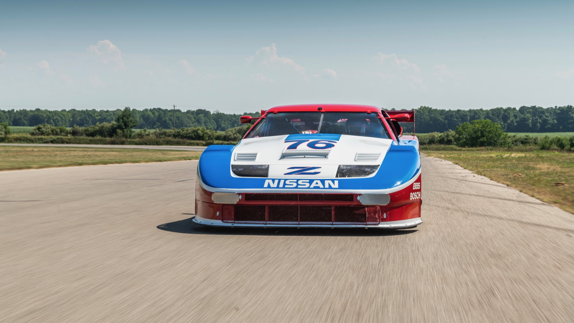 1989 Nissan 300ZX IMSA GTO race car for sale by Stratas Auctions