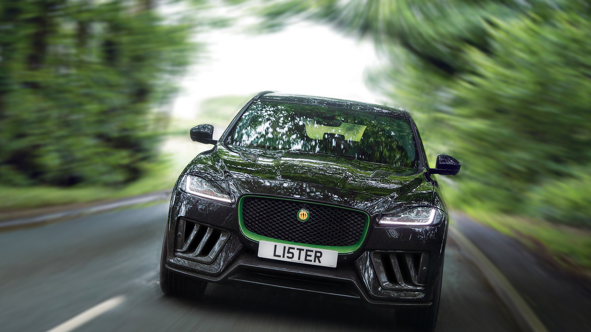 2020 Lister Stealth based on the Jaguar F-Pace SVR