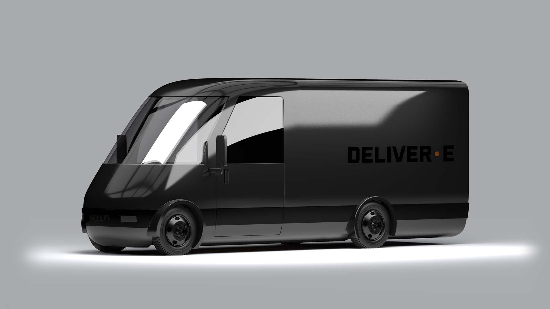 Bollinger shows off an electric delivery van headed for production in 2022