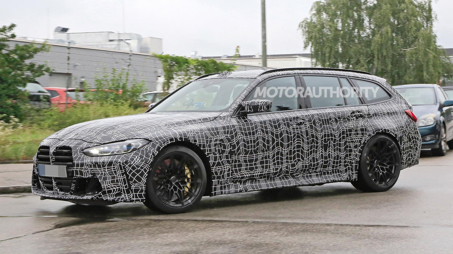 2022 BMW M3 Touring spy shots - Photo credit:S. Baldauf/SB-Medien