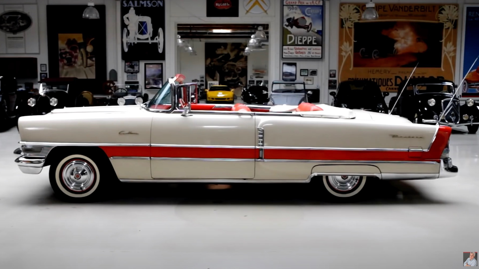 1955 Packard Caribbean on Jay Leno's Garage