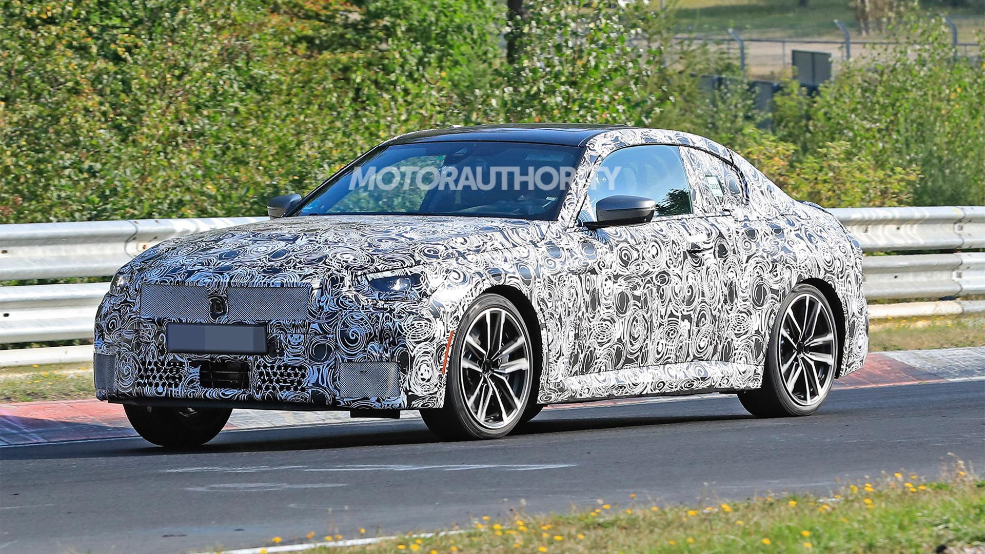 2022 BMW 2-Series spy shots - Photo credit:S. Baldauf/SB-Medien