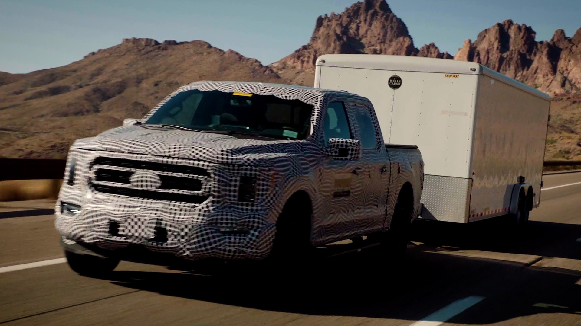 2021 Ford F-150 PowerBoost hybrid torture testing