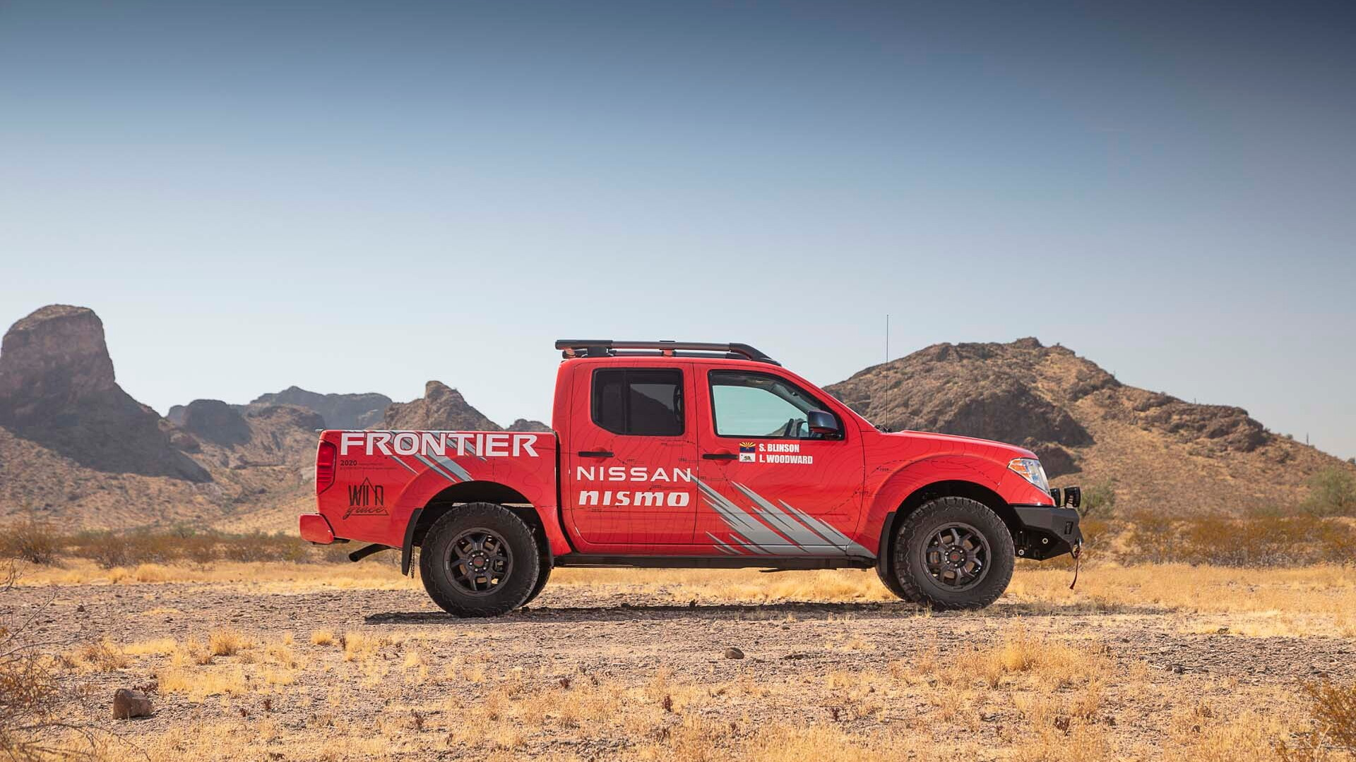 Team Wild Grace's 2020 Nissan Frontier with new Nismo off-road parts