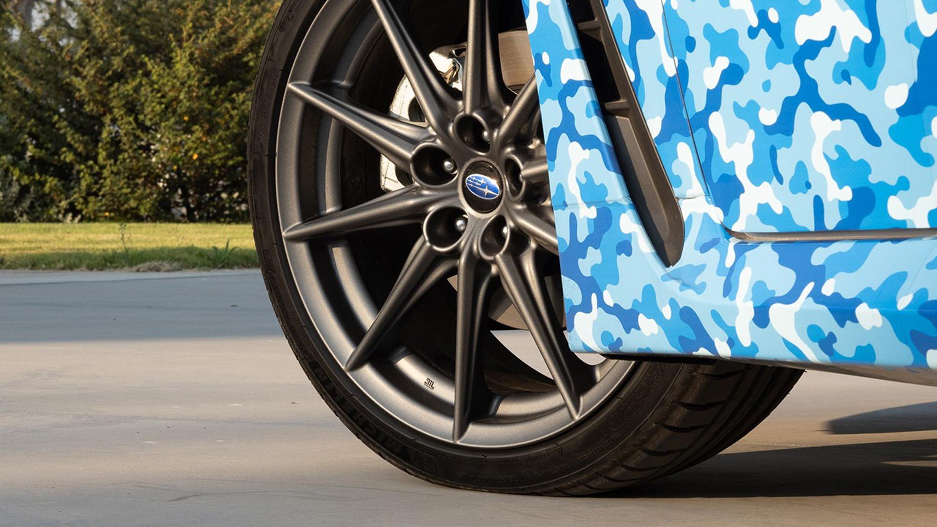 Teaser for 2022 Subaru BRZ debuting on November 18, 2020