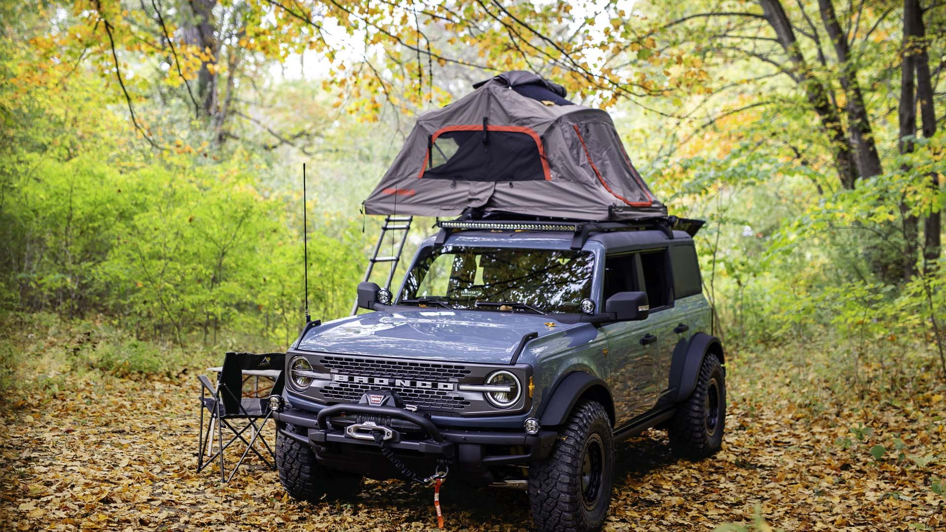 2021 Ford Bronco Overland concept