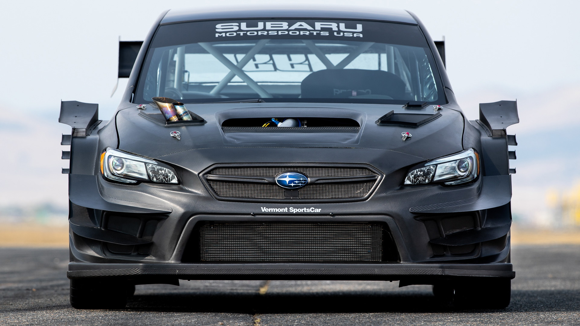 Travis Pastrana's custom Subaru WRX STI built for Gymkhana 11