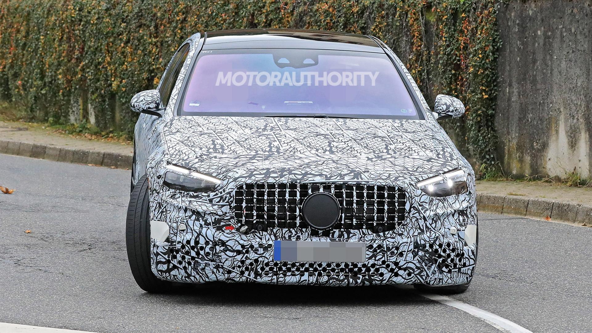 2022 Mercedes-AMG S63e spy shots - Photo credit:S. Baldauf/SB-Medien
