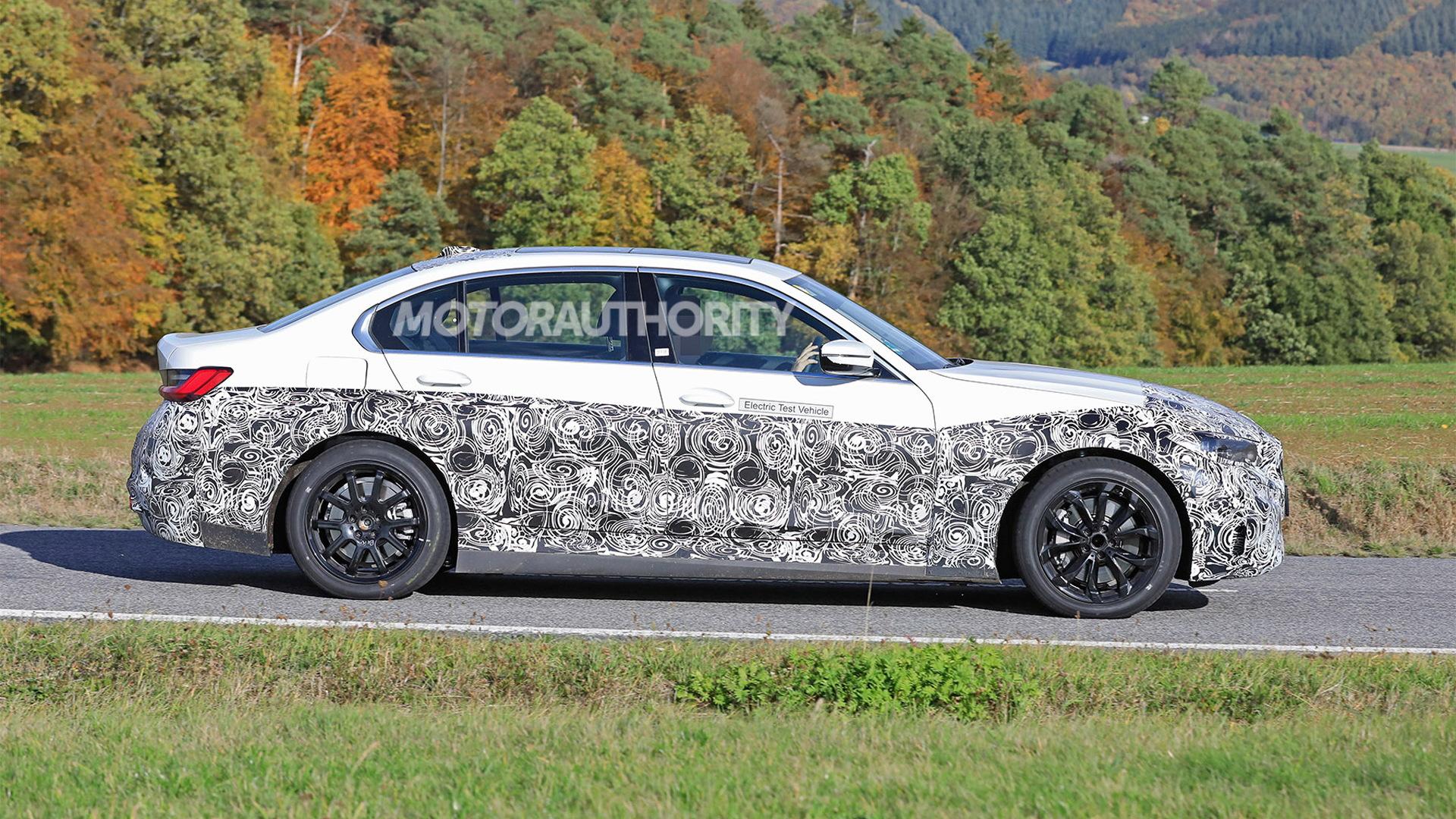 2022 BMW 3-Series with battery-electric powertrain - Photo credit:S. Baldauf/SB-Medien