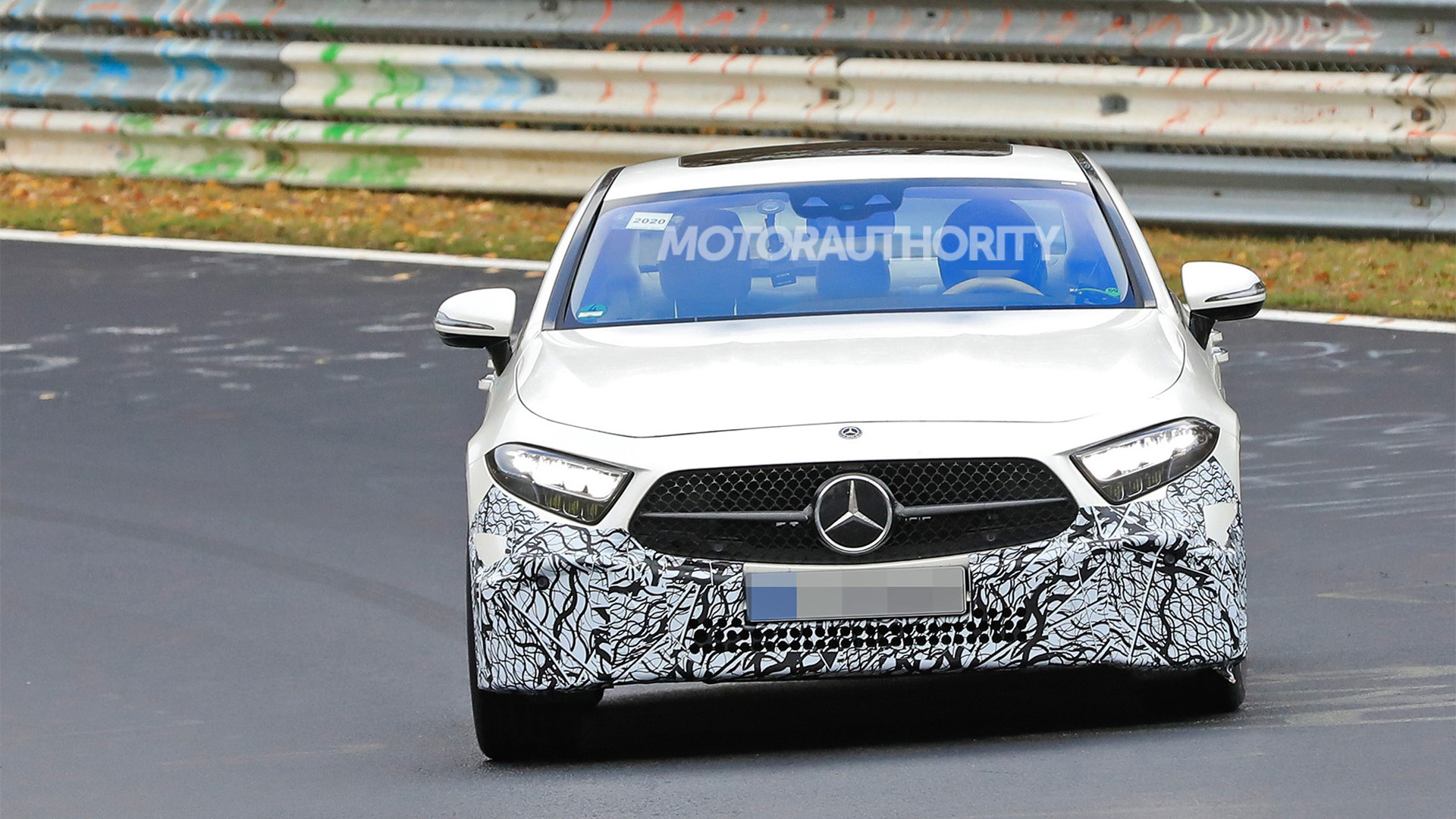 2022 Mercedes-Benz CLS facelift spy shots - Photo credit: S. Baldauf/SB-Medien