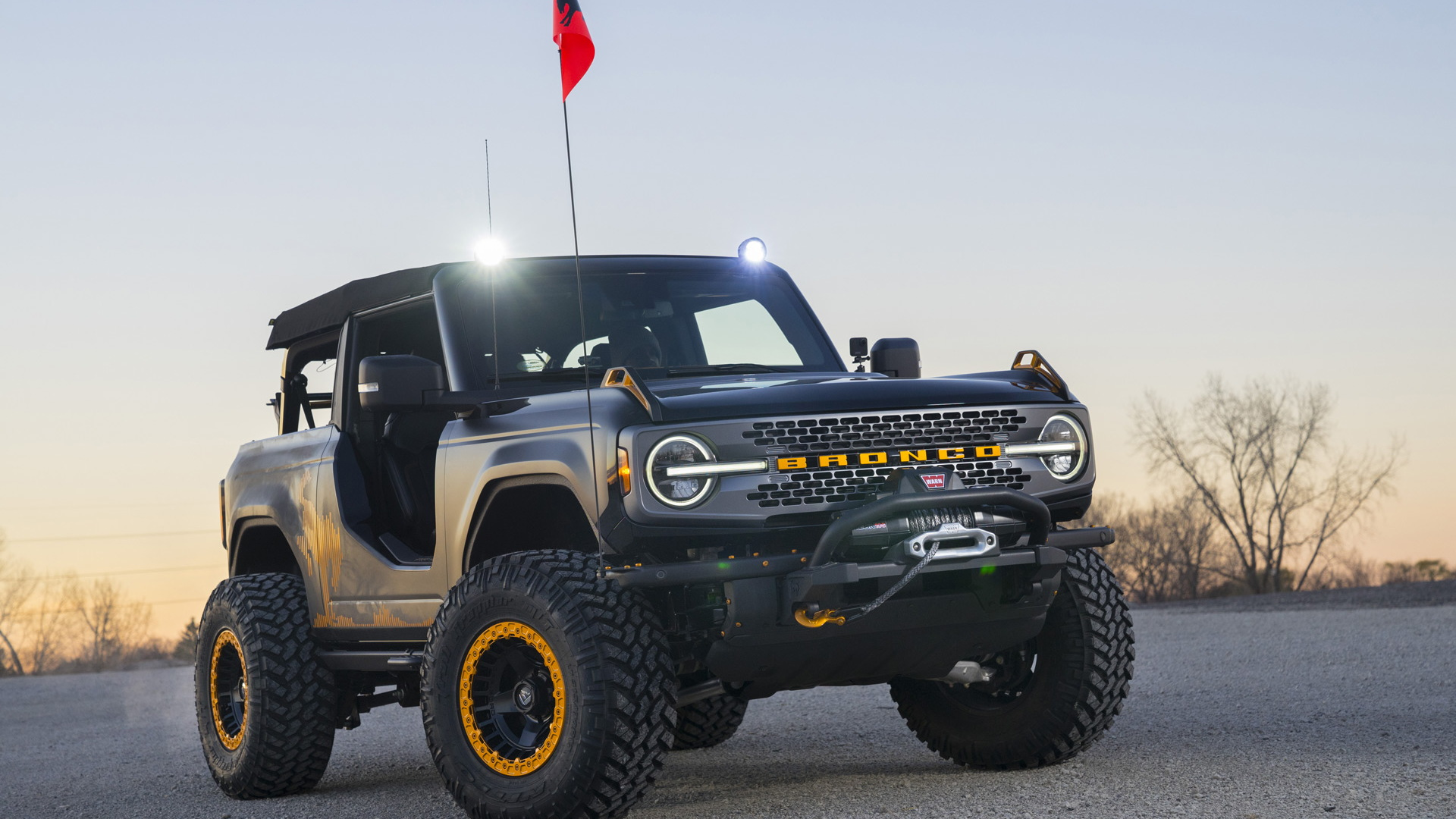 Ford Bronco Badlands Sasquatch 2-Door Concept