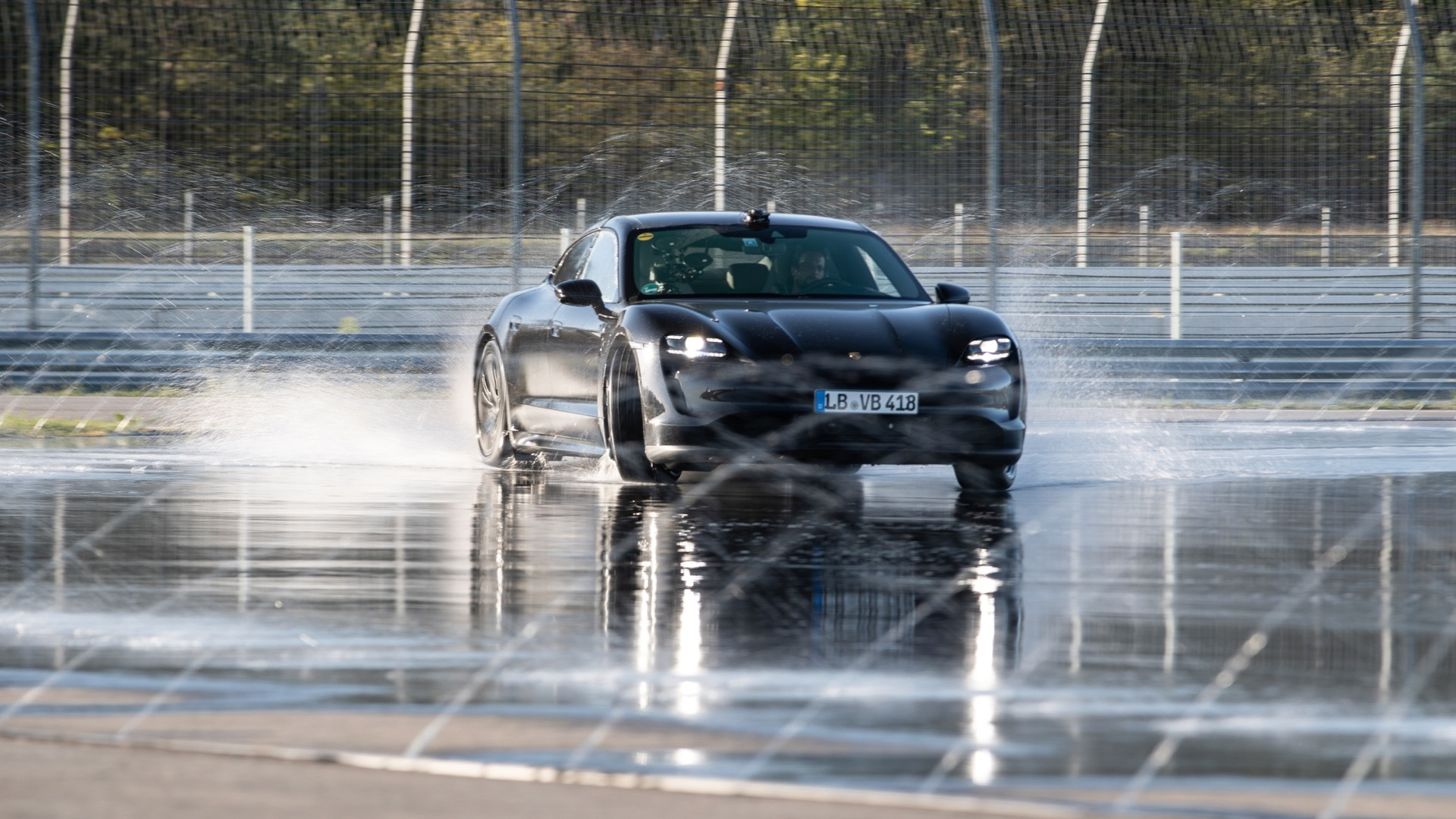 Porsche Taycan sets Guinness World Record for longest drift with an electric vehicle