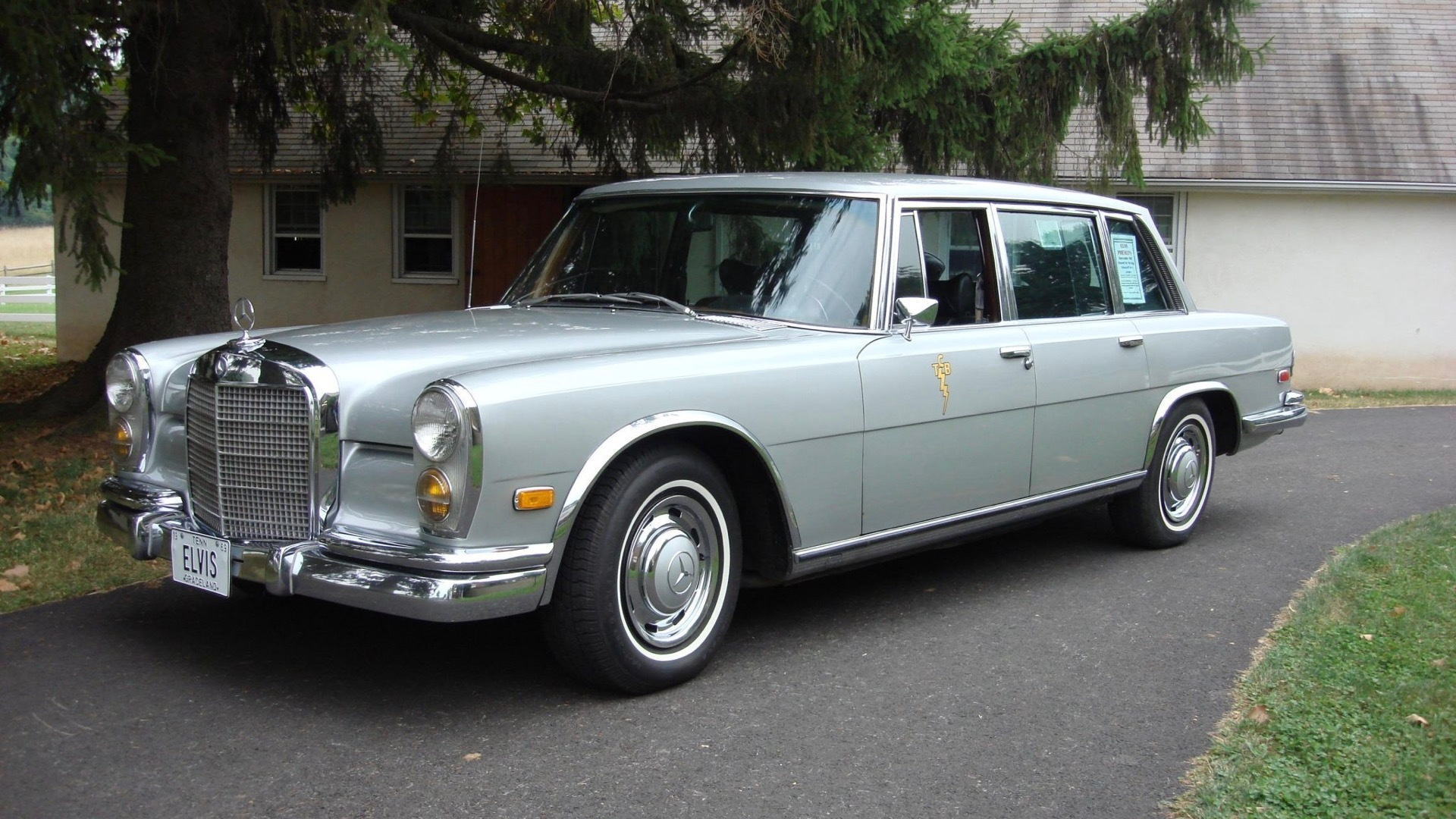 1969 Mercedes-Benz 600 owned by Elvis Presley (Photo by Bring a Trailer)
