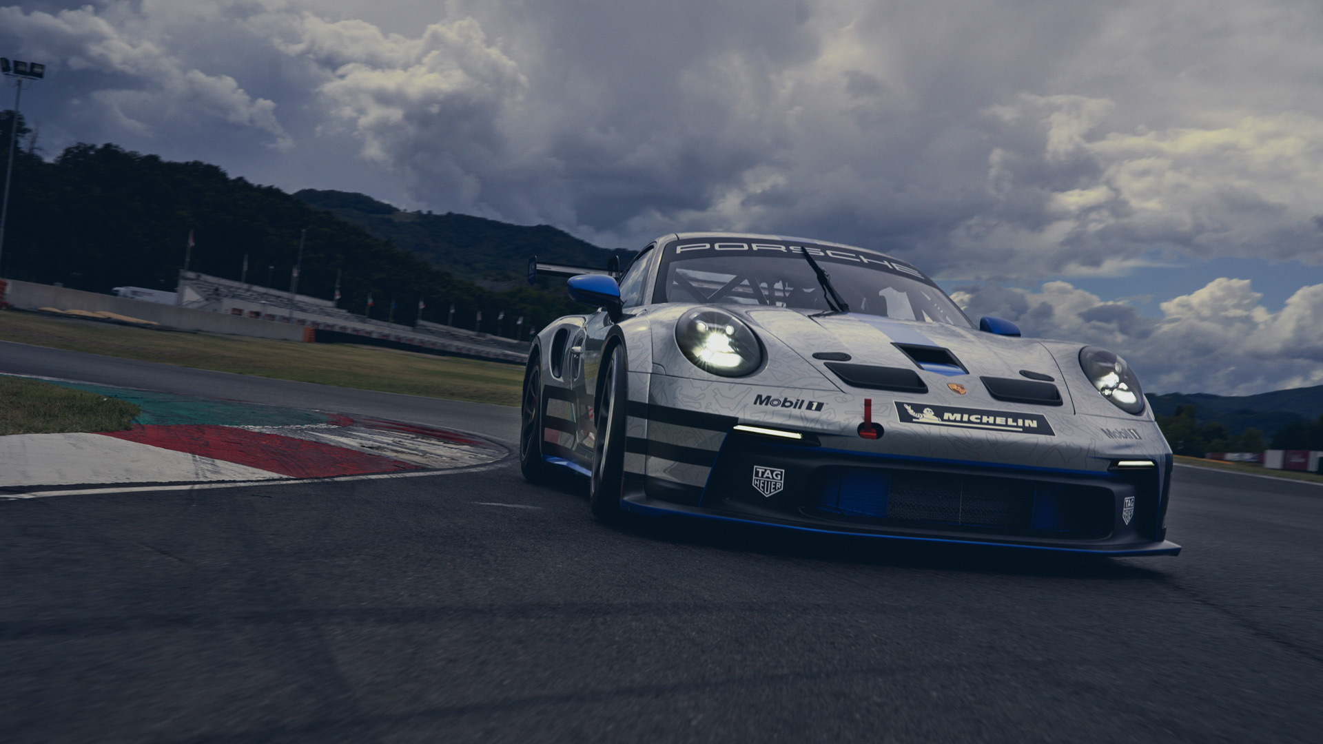 2021 Porsche 911 GT3 Cup race car