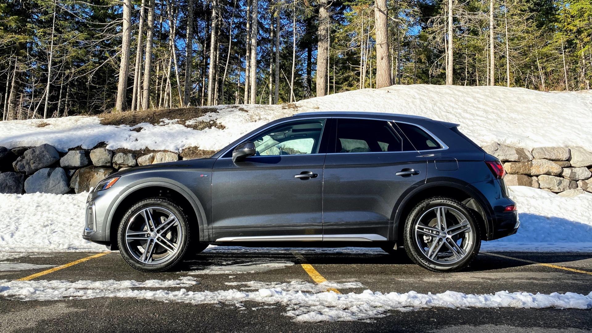 2021 Audi Q5 plug-in hybrid  -  First drive, December 2020