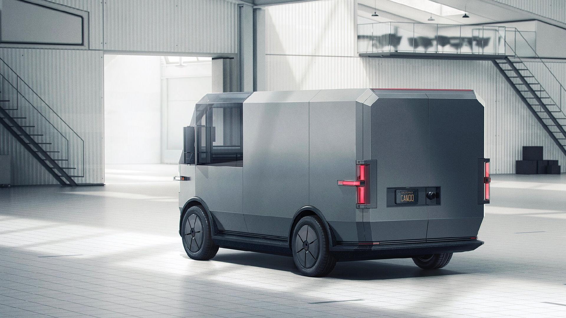 Canoo MPDV electric van