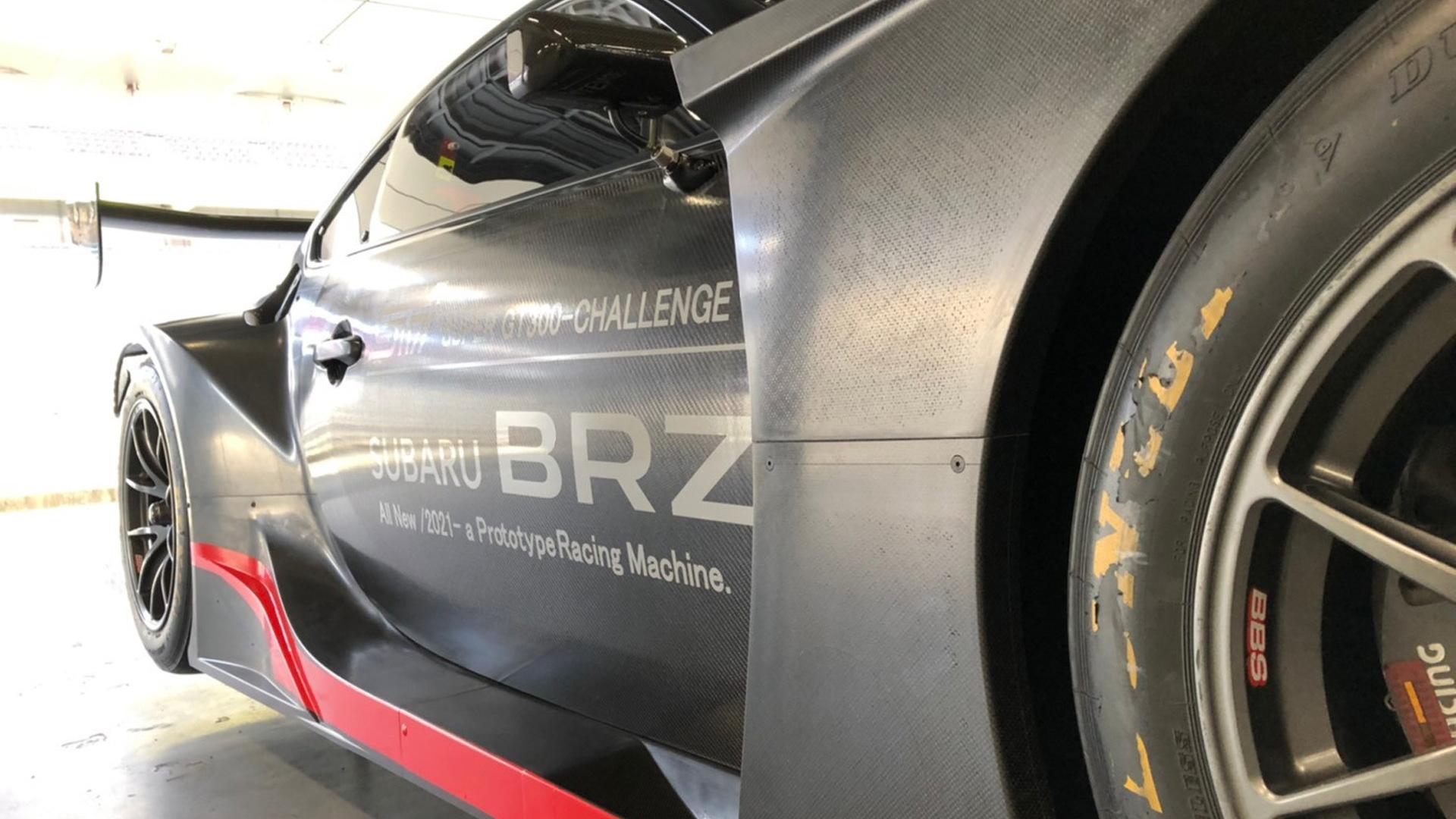 2021 Subaru BRZ GT300 race car