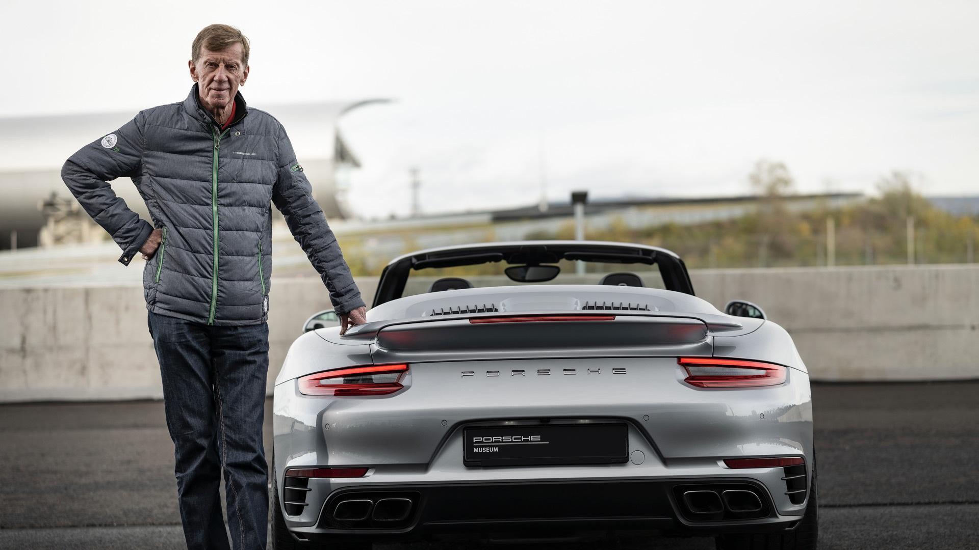 Walter Röhrl and the 991-generation Porsche 911 Turbo