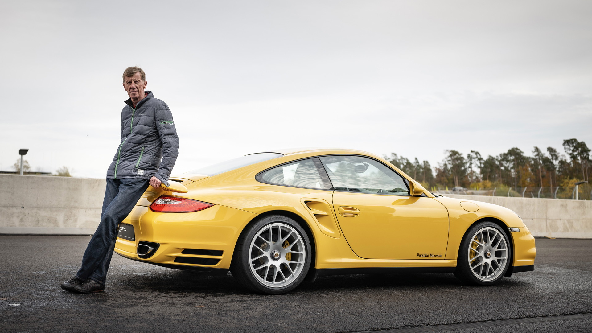 Walter Röhrl and the 997-generation Porsche 911 Turbo