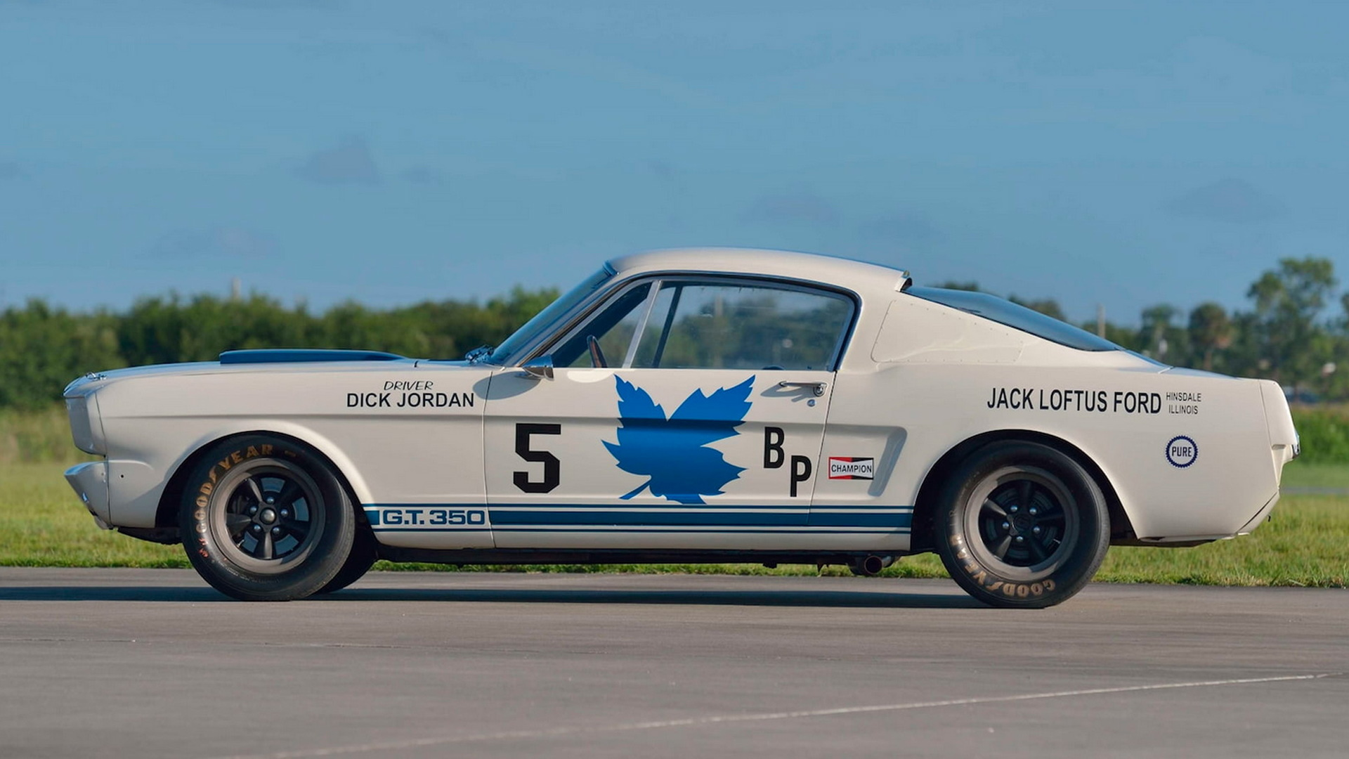 1965 Ford Shelby GT350 Competition bearing chassis no. SFM5R106 - Photo credit: Mecum Auctions