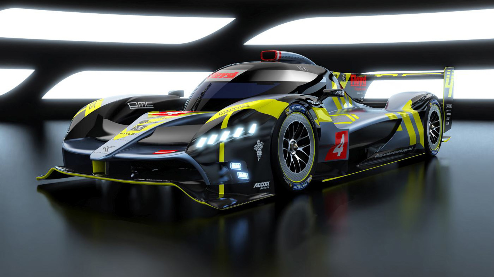 2021 ByKolles PMC Project Le Mans Hypercar race car