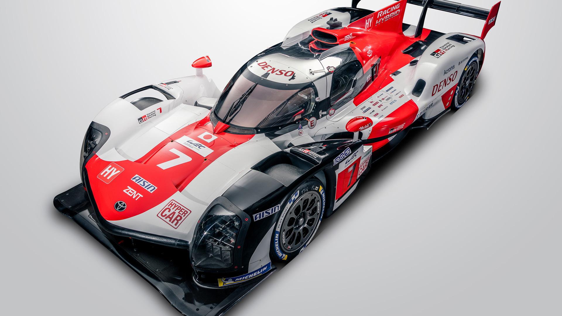 2021 Toyota GR010 Hybrid Le Mans Hypercar race car