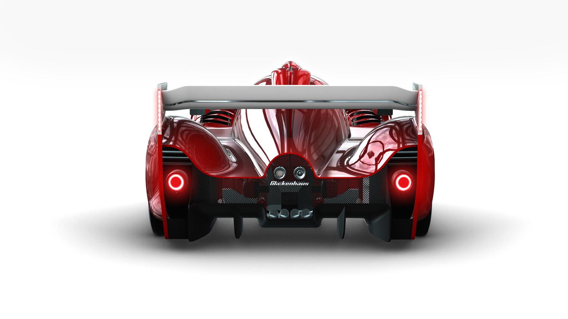 Scuderia Cameron Glickenhaus 007 Le Mans Hypercar race car